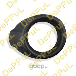 Накладка противотуманной фары правой черная (DePPuL) DE170891FF