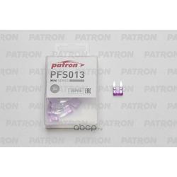 Предохранитель 25шт 3a (PATRON) PFS013
