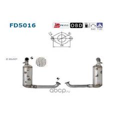 Сажевый / частичный фильтр (As) FD5016