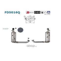 Сажевый / частичный фильтр (As) FD5016Q