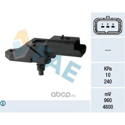 Датчик, давление во впускном газопроводе (FAE) 15046