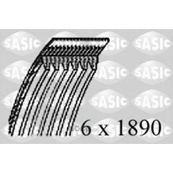 Поликлиновой ремень (Sasic) 1776087