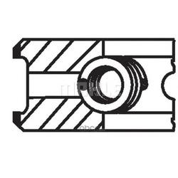 Комплект поршневых колец (Mahle/Knecht) 04006N0