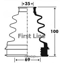 Пыльник, приводной вал (First line) FCB2903