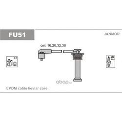 Комплект проводов зажигания (Janmor) FU51