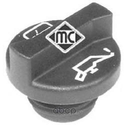 Крышка маслозаливной горловины без клапана пластик (METALCAUCHO) 03704