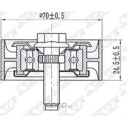 Обводной ролик приводного ремня (Sat) ST1341A005