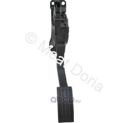 Комплект педали управления подачей топлива (MEAT & DORIA) 83652