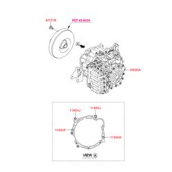 Коробка автомат для Киа Сид в сборе (Hyundai-KIA) 4500026074