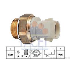 Термовыключатель, вентилятор радиатора (Facet) 75137