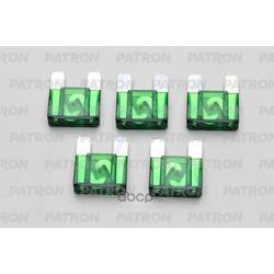 Предохранитель 5шт maxi fuse 30a зеленый (PATRON) PFS063