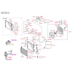 Мотор вентилятора охлаждения (Hyundai-KIA) 253861H050