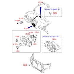 Датчик температуры охлаждающей жидкости Киа Сид (Hyundai-KIA) 941101C100
