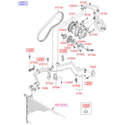 Уплотнительные кольца (Hyundai-KIA) 9769034330