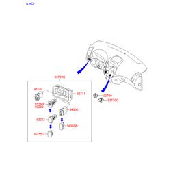 Звуковой сигнал Kia Ceed 2008 (Hyundai-KIA) 966601H000