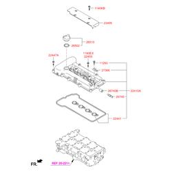Клапанная крышка (Hyundai-KIA) 224102B000