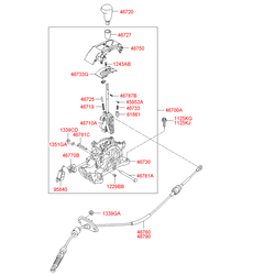 Кнопка АС (Hyundai-KIA) 467192H100