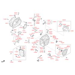 Сальник привода Киа Сид (Hyundai-KIA) 452453B300