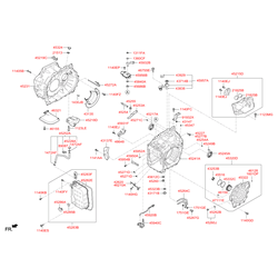 Сальник привода Киа Сид 2012 (Hyundai-KIA) 452453B300