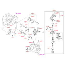Рычаги Киа Сид 2014 (Hyundai-KIA) 4385032211
