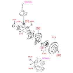 Выжимной подшипник (Hyundai-KIA) S517202D100