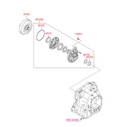 Помпа на Киа Церато 2 (Hyundai-KIA) 4610023000
