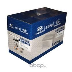 Аккумулятор для Киа Пиканто 2010 (Hyundai-KIA) 3711007100