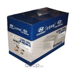Купить аккумулятор на Киа Пиканто 1.1 2006 год выпуска (Hyundai-KIA) 3711007100