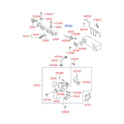 Катушка зажигания (Hyundai-KIA) 3515002600