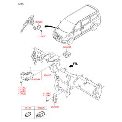 Предохранители Kia Picanto 2009 (Hyundai-KIA) 951103B100