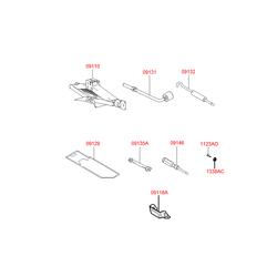 Ключ баллонный (Hyundai-KIA) 091313B010