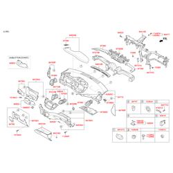 Гайка m6 (Hyundai-KIA) 1339506001