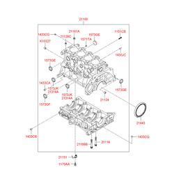 Маслосъемные колпачки (Hyundai-KIA) 1573425000