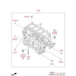 Маслосъемные колпачки (Hyundai-KIA) 2113332000