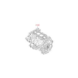 Двигатель (Hyundai-KIA) 211022BW01