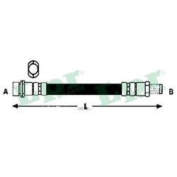 Тормозной шланг (Lpr/AP) 6T47893
