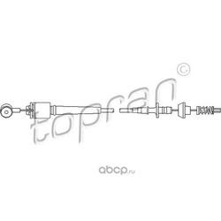 Тросик газа (topran) 302775