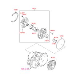 Масляный насос АКПП (Hyundai-KIA) 4611022730