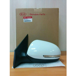 Зеркало левое (Hyundai-KIA) 876104Y041