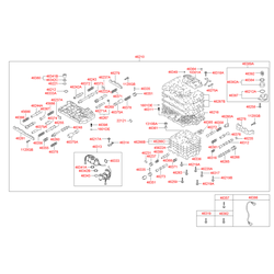 Датчик температуры масла АКПП (Hyundai-KIA) 4638622600