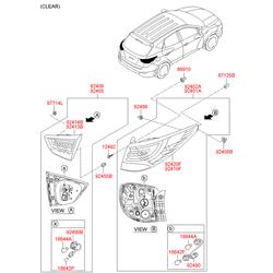 Лампа (Hyundai-KIA) 1864221007N