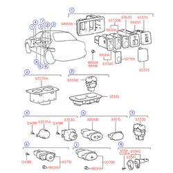 Лампочка в кнопку подогрева сидений (Hyundai-KIA) 1869108041