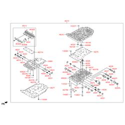 Масляный сетчатый фильтр (Hyundai-KIA) 4633623000
