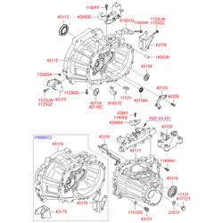 Палец маховика двигателя (Hyundai-KIA) 1430310200