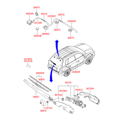 Заглушка (Hyundai-KIA) 9894027300