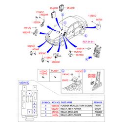 Модуль подушки безопасности (Hyundai-KIA) 959202H100