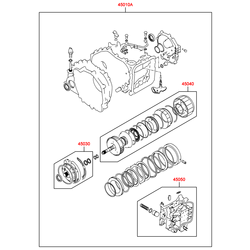 Комплект прокладок АКПП (Hyundai-KIA) 4505022A20