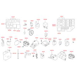 Реле включения фар (Hyundai-KIA) 9522529200
