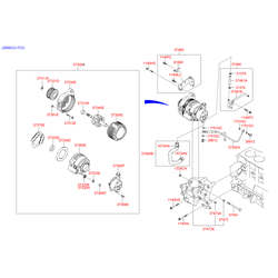Ротор генератора (Hyundai-KIA) 3734039400