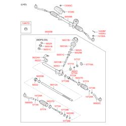 Сальник коленвала (Hyundai-KIA) 565181C100